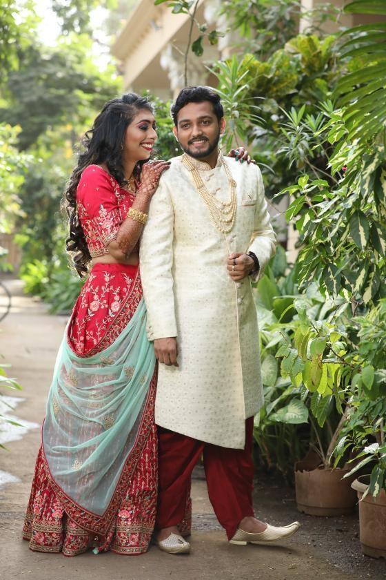 Manav Ethnic Happy Customer wearing Light Cream Indo-Western